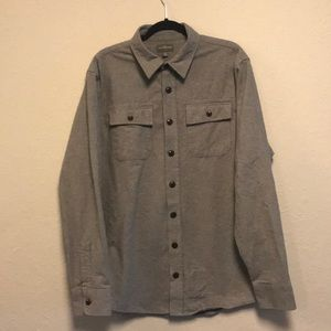 Men's Flannel / Grey / Size Large Tall